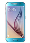 Samsung Galaxy S6 in blauw