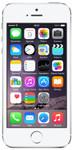 iPhone 5s in zilver (witte voorkant)
