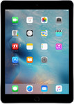 iPad Air 2 in spacegrey (zwarte voorkant)