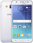 Samsung Galaxy J5 (2017) in blanc