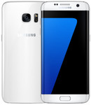 Samsung Galaxy S7 Edge in wit