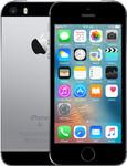 iPhone SE (2016) in spacegrey (zwarte voorkant)
