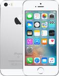 iPhone SE (2016) in zilver (witte voorkant)
