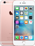 iPhone 6s in or rose
