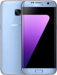 Samsung Galaxy S7 Edge in blauw