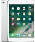 iPad Mini 4 in zilver (witte voorkant)