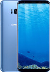 Samsung Galaxy S8 Plus in bleu