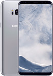 Samsung Galaxy S8 Plus in argent