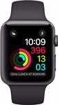 Apple Watch Series 1 42mm Spacegrijs Aluminium/Zwarte Sportband