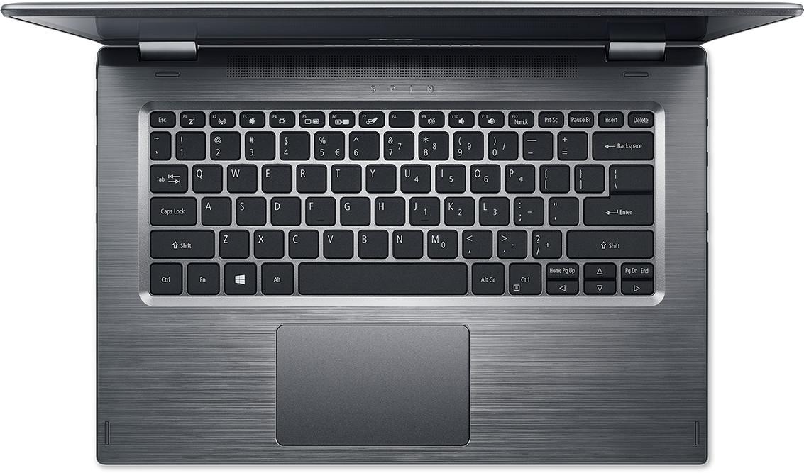 Acer Spin 3 SP314-51-59BP bovenkant