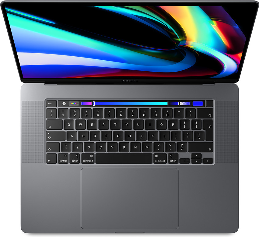 Apple MacBook Pro 16 inch (2019) 2,4 GHz i9 64 GB/2 TB 5500M 8 GB Main Image