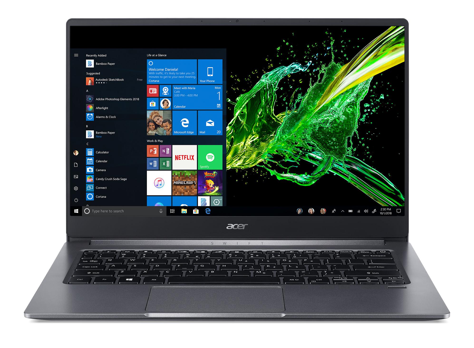 Acer Swift 3 SF314-57-57NU voorkant