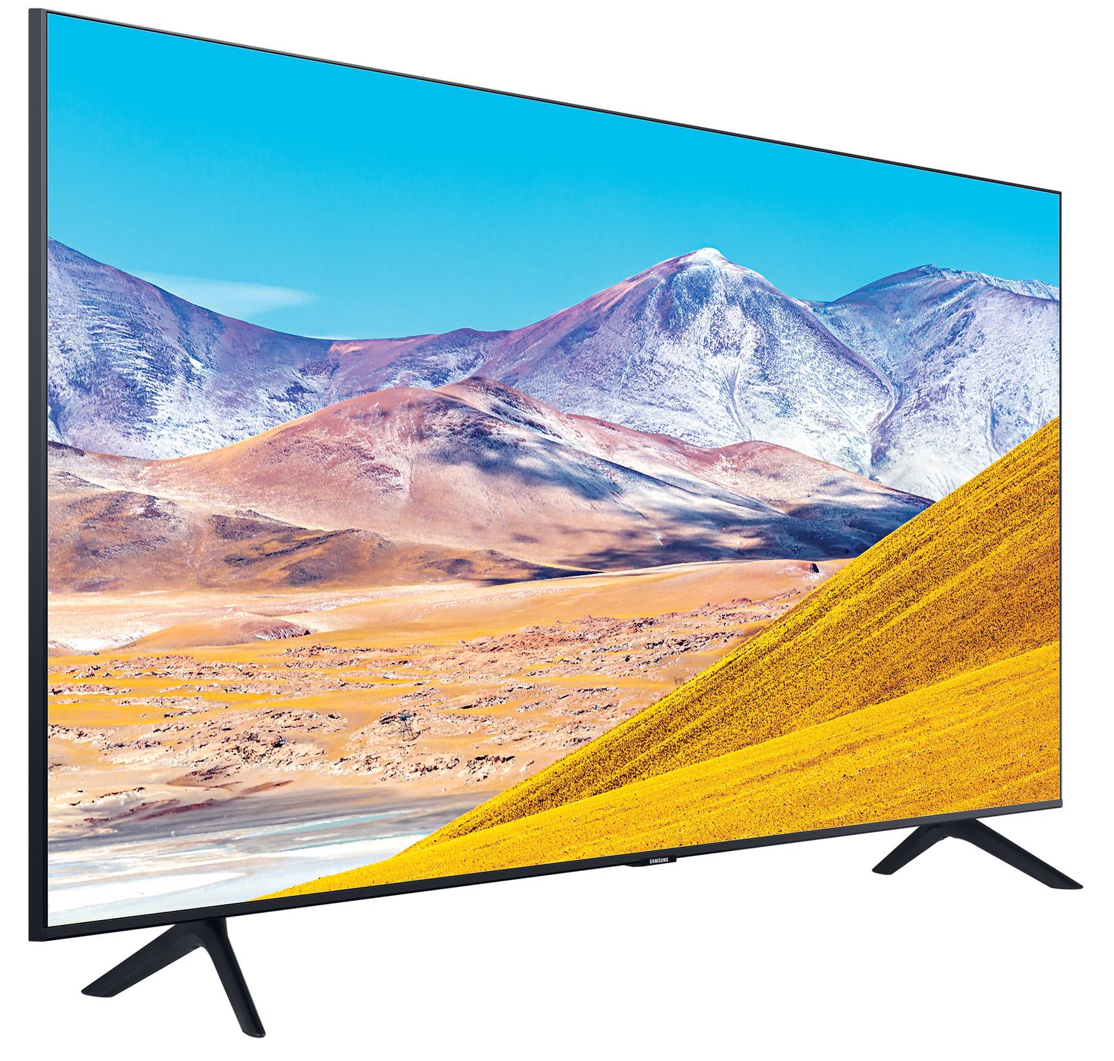 Samsung Crystal UHD 43TU8000 (2020) linkerkant