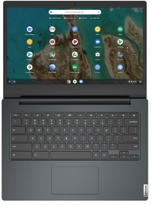 Lenovo IdeaPad 3 Chromebook 14IGL05 - Chromebook laptop Full HD voor middelbare school en brugklas