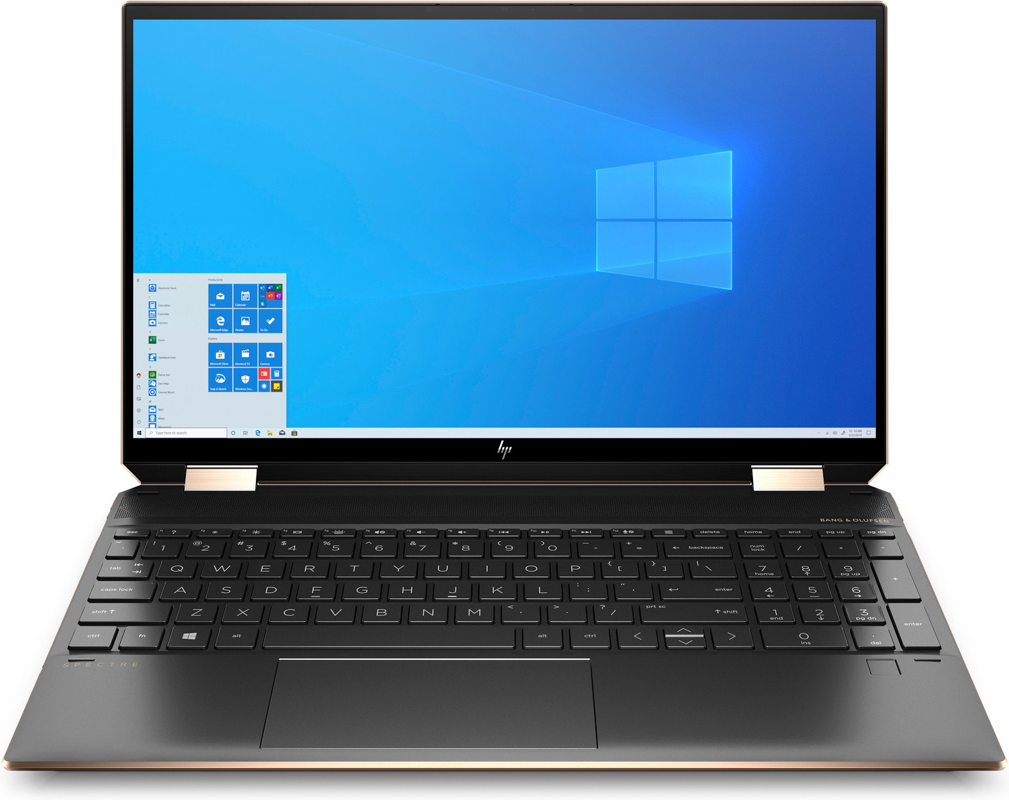 HP Spectre X360 15-eb0250nd voorkant