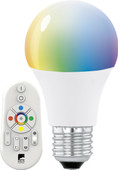 Eglo Connect White and Color 9W E27 met Afstandsbediening