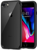 Spigen Ultra Hybrid Apple iPhone 7/8 Back Cover Zwart
