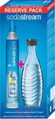 SodaStream Reserve Pack CO2 Cylinder + Glass Carafe