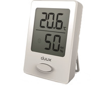 Duux Sense Hygrometer and Thermometer White