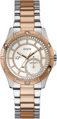 Guess Connect IQ Plus Rosé Goud/Zilver