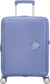 American Tourister Soundbox Expandable Spinner 55cm Denim Blue