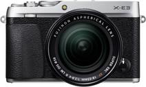 Fujifilm X-E3 Zilver + XF 18-55mm f/2.8-4.0 R LM OIS