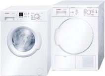 Bosch WAB28160NL + Bosch WTE84105NL
