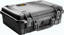 Pelicase 1500 black with polystyrene