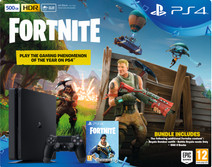Sony PlayStation 4 Slim 500GB + Fortnite Bundle