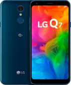 LG Q7 Blauw