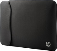"""HP 15.6"""" Reversible Sleeve Zwart/Zilver"""