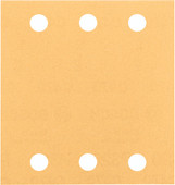 Bosch Sanding sheet 115x107 mm K180 (10x)