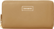 Samsonite Karissa LTH SLG L Zip Around Cognac