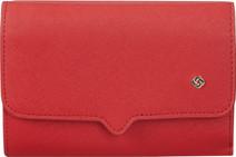 Samsonite Miss Journey SLG Wallet 12CC Scarlet Red