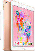Apple iPad (2018) 128GB Wifi Gold + Apple Pencil
