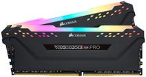 Corsair Vengeance RGB Pro 16GB DDR4 DIMM 3200 Mhz / 16 (2x8GB) Black
