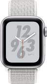 Apple Watch Series 4 40mm Nike+ Zilver Aluminium/Nylon Sportband