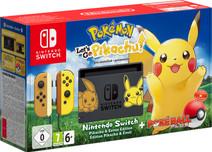 Nintendo Switch Pokemon Let's Go Pikachu Bundel