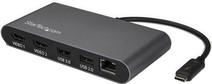 StarTech Thunderbolt 3 4K 60Hz Dual HDMI Kabel Converter