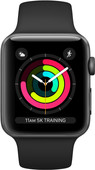Apple Watch Series 3 42mm Space Gray Aluminum/Black