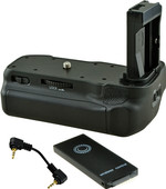 Jupio Battery Grip for Canon EOS 77D, 800D and 9000D + Cable