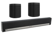Sonos Playbar 5.0 + One (x2) Zwart