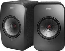 KEF LSX wireless stereo systeem Zwart (per paar)