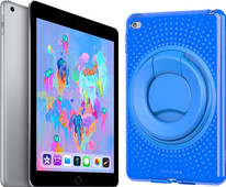 Apple iPad (2018) 32 GB Wifi + Tech21 Evo Back Cover Blauw