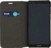 Azuri Booklet Ultra Thin Huawei P Smart Book Case Black