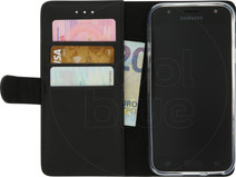 Azuri Wallet Magnetic Samsung Galaxy J3 (2017) Book Case Black