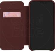 Decoded Leather Slim Wallet Apple iPhone Xr Book Case Red