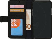 Decoded Leather 2-in-1 Wallet iPhone X/Xs Book Case Black