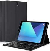 Just in Case Premium Samsung Galaxy Tab S3 Book Case Black QWERTY