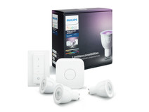 Philips HUE GU10 Starter Pack with Dimmer